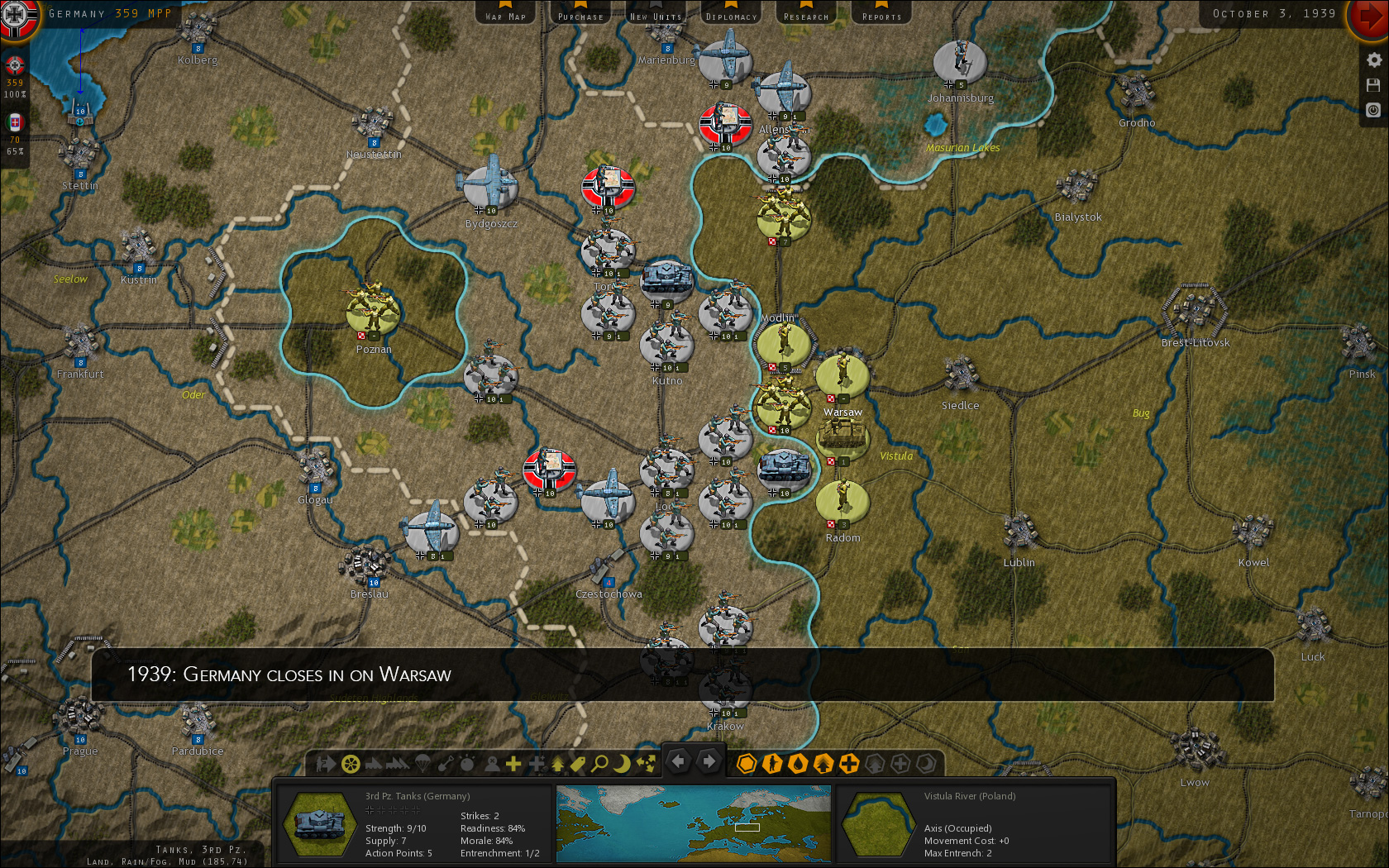 Strategic command shows the course of world war 2 in screenshots publicscrutiny Images