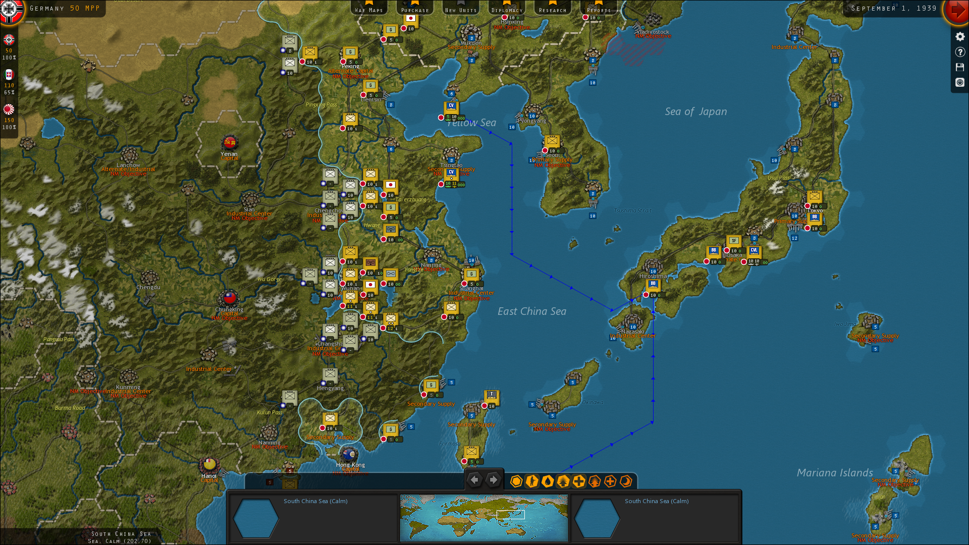 strategic command wwii world at war