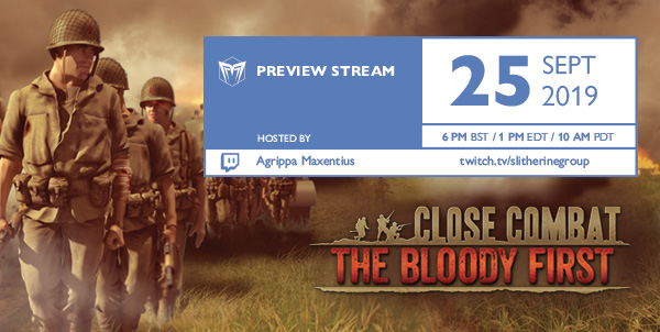 Close Combat: The Bloody First Live on Twitch